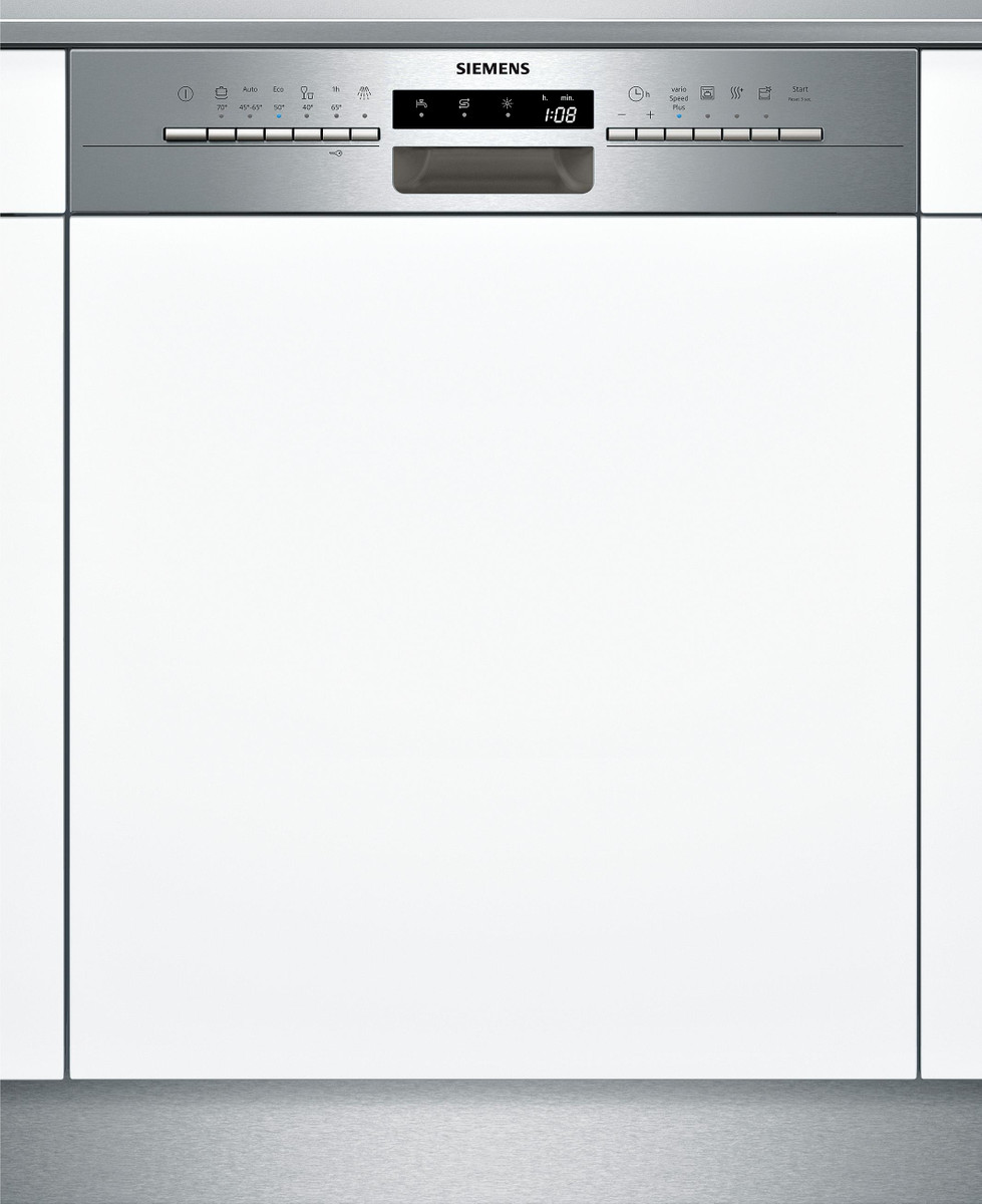 SN536S01GE Integrierbar - Edelstahl Geschirrspüler 60 cm