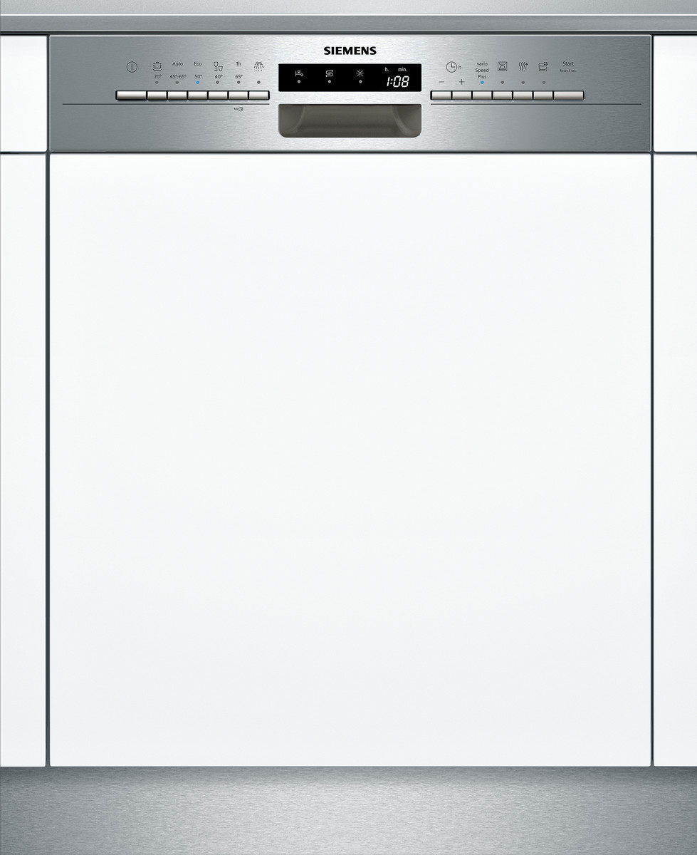 SN536S01KE Integrierbar - Edelstahl Geschirrspüler 60 cm