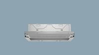 LI64LA520 Silbermetallic 60 cm Flachschirmhaube