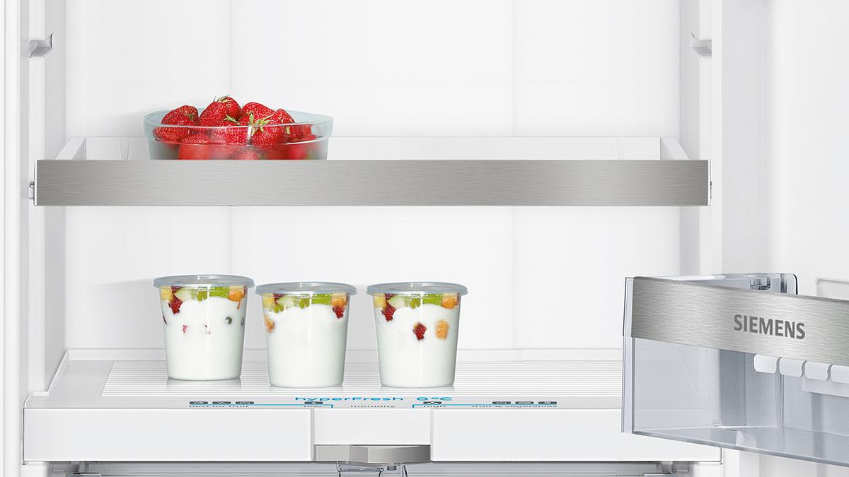 KI41FAD40 SmartCool Einbau-Kühlautomat Flachscharnier-Technik, softEinzug mit Türdämpfung easy Installation – Bild 2