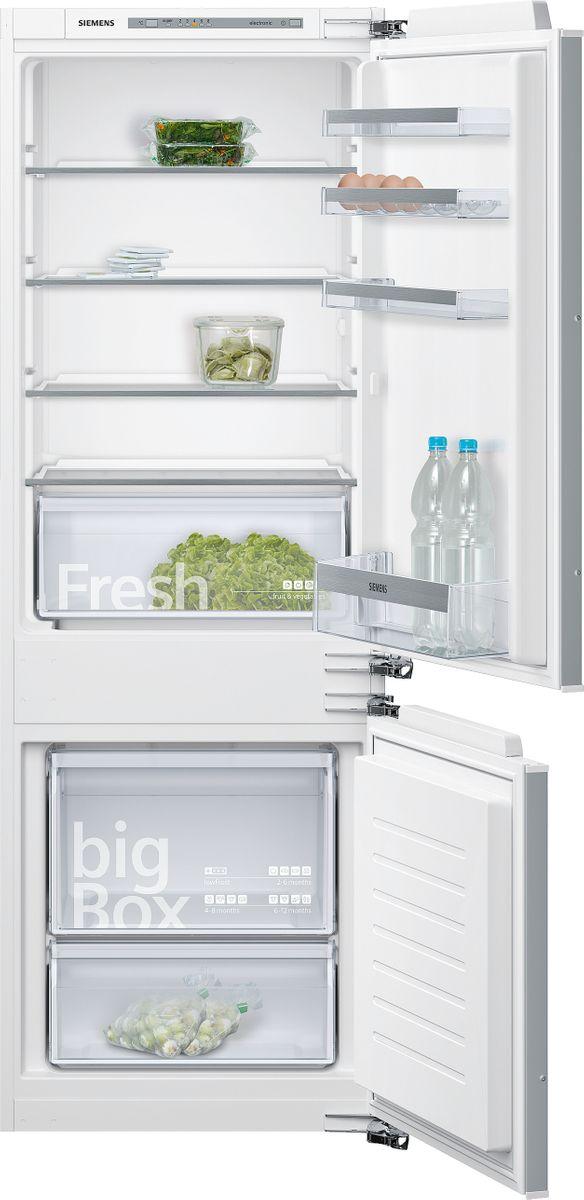 KI77VVF30 SmartCool Einbau-Kühl-Gefrier-Kombination Flachscharnier-Technik easy Installation – Bild 1