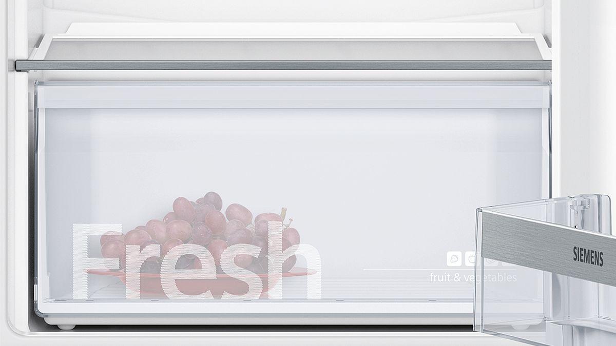 KI86NVF30 SmartCool Einbau-Kühl-Gefrier-Kombination Flachscharnier-Technik easy Installation – Bild 1