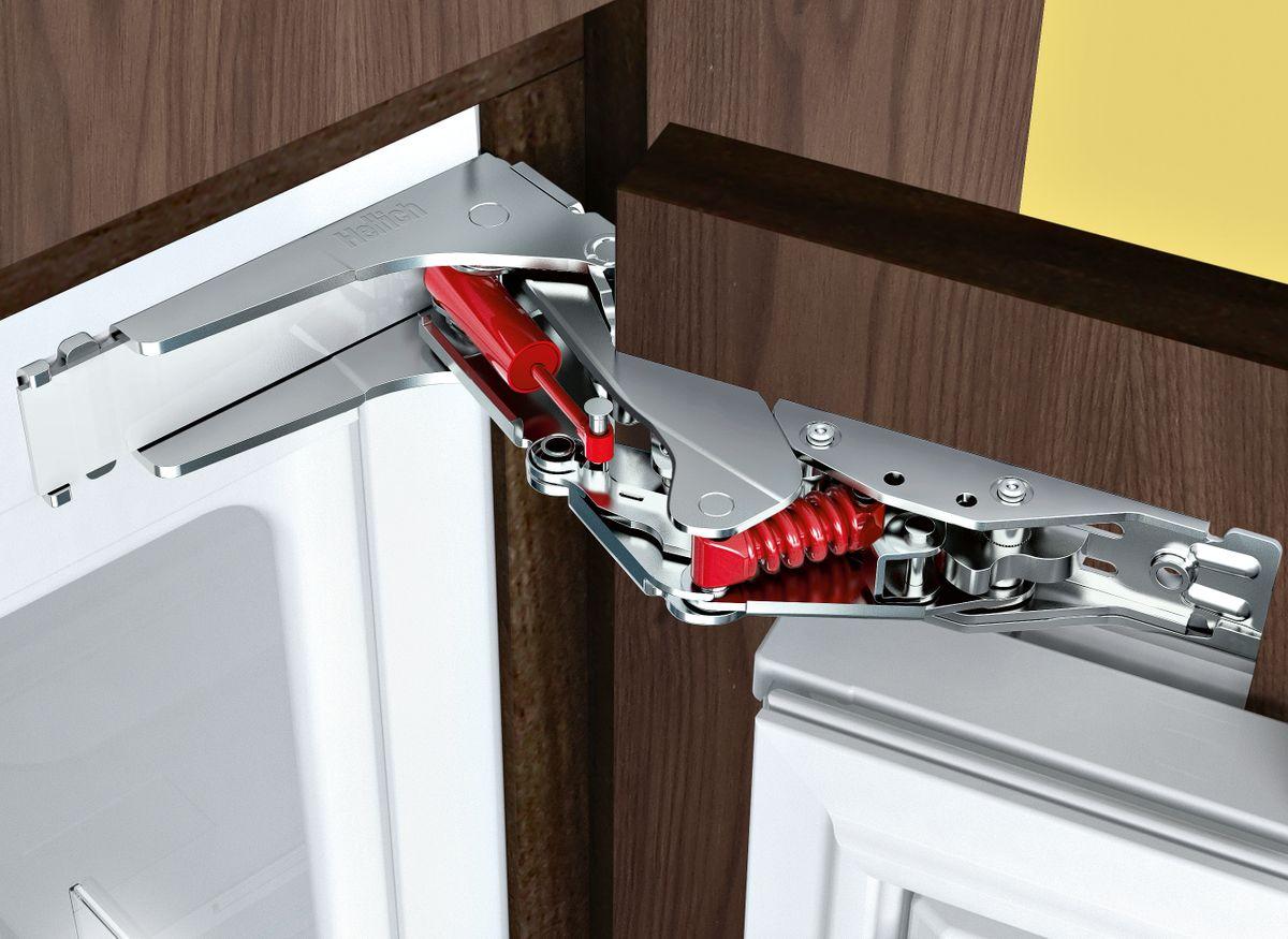 KI86SAD30 Einbau-Kühl-Gefrier-Kombination Flachscharnier-Technik, softEinzug mit Türdämpfung – Bild 2