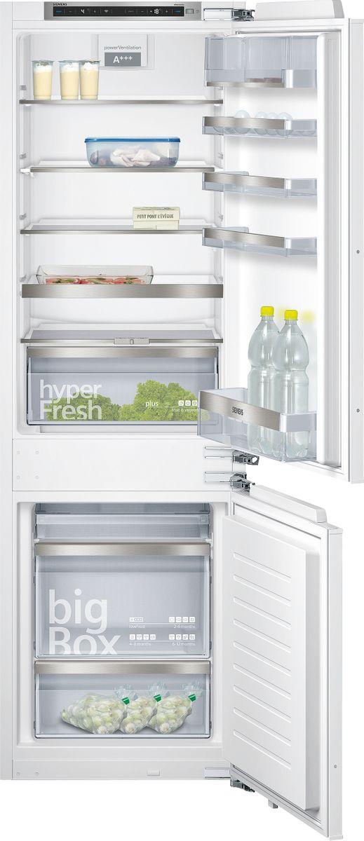 KI86SHD40 SmartCool Einbau-Kühl-Gefrier-Kombination Flachscharnier-Technik, softEinzug mit Türdämpfung easy Installation