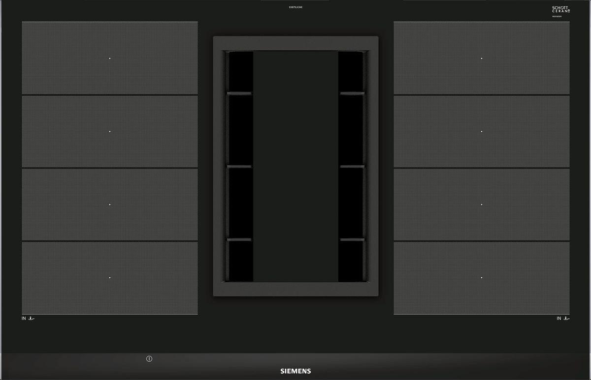 EX875LX34E Kochstelle mit integriertem Dunstabzug 80 cm Induktions-Kochfeld autark, Glaskeramik – Bild 1