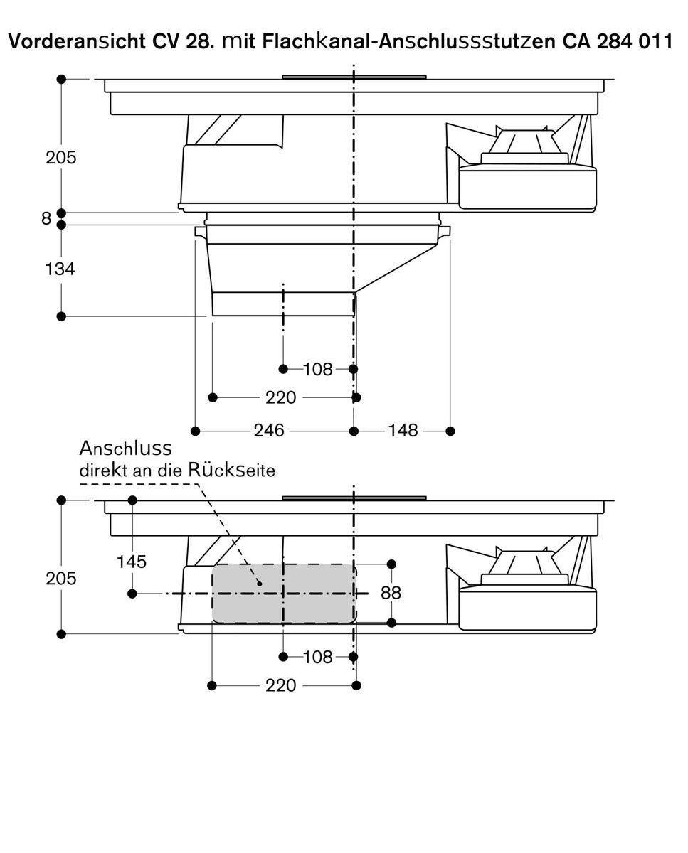 Gaggenau CV282100, Kochfeld mit Dunstabzug (Induktion) – Bild 6