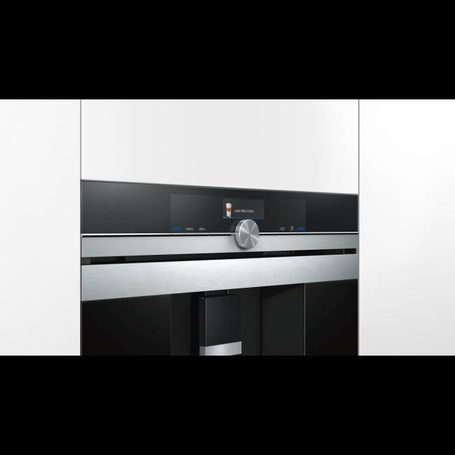 Siemens CT636LES6 Einbau-Kaffeevollautomat edelstahl – Bild 2