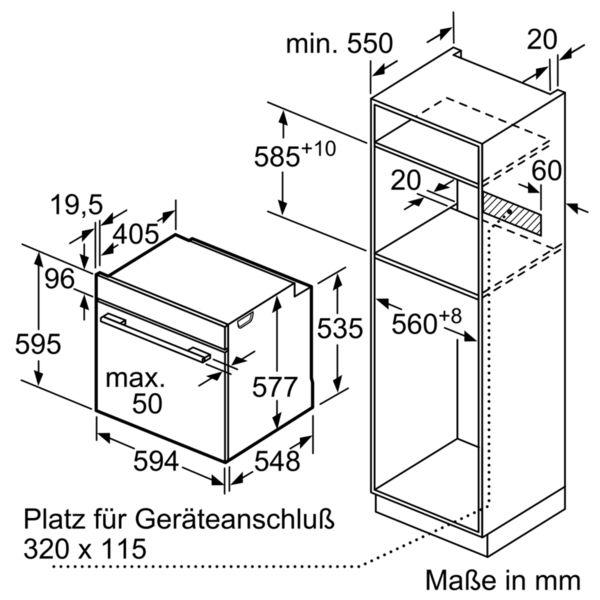 Neff Einbaubackofen BCC3622 B3CCE2AN0, Energieeffizienz: A – Bild 3