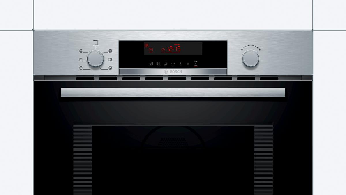 Kompaktbackofen mit Mikrowelle CMA583MS0 Edelstahl – Bild 3