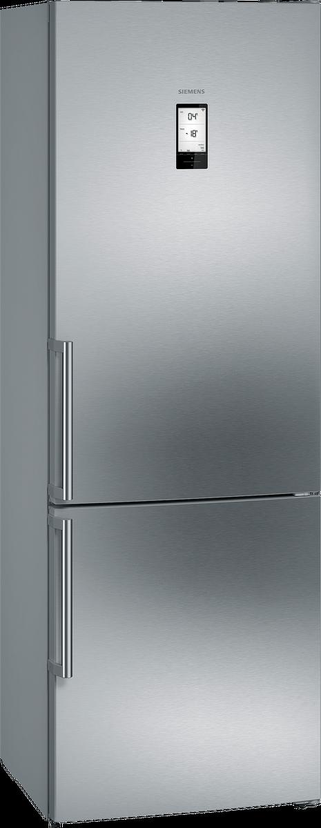 KG49NAI40 noFrost, Kühl-Gefrier-Kombination Türen Edelstahl antiFingerPrint – Bild 3