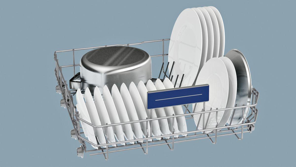 SN236W01ME »iQ300« Stand - weiß speedMatic Geschirrspüler 60 cm – Bild 2