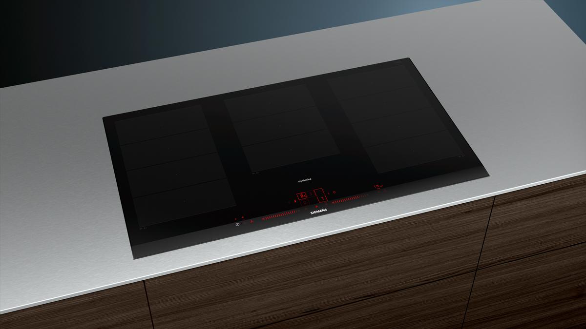 EX977LXV5E Facetten-Design 90 cm Induktions-Kochfeld autark, Glaskeramik – Bild 3