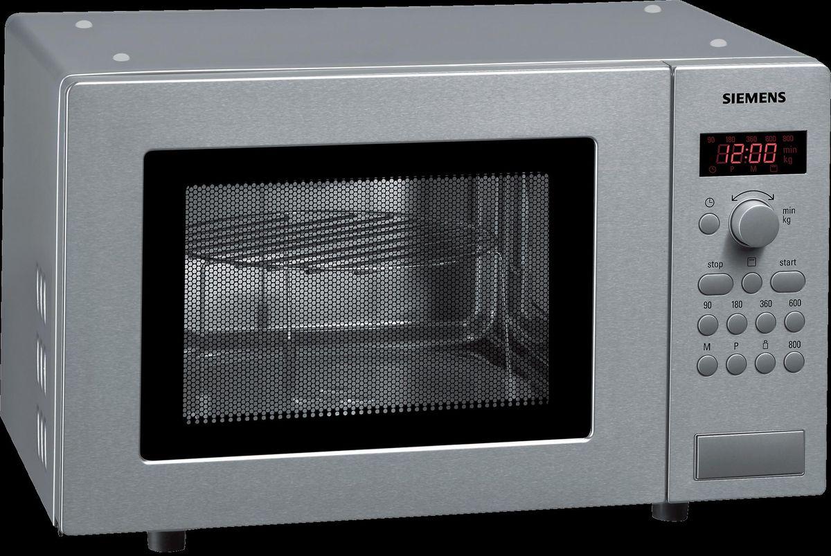 Mikrowelle mit Grill HF15G541 Edelstahl – Bild 1