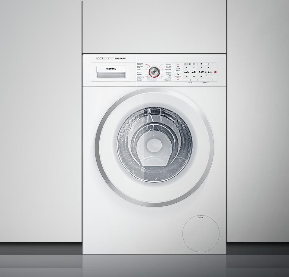 Gaggenau WM260163, Waschmaschine, Frontlader – Bild 3