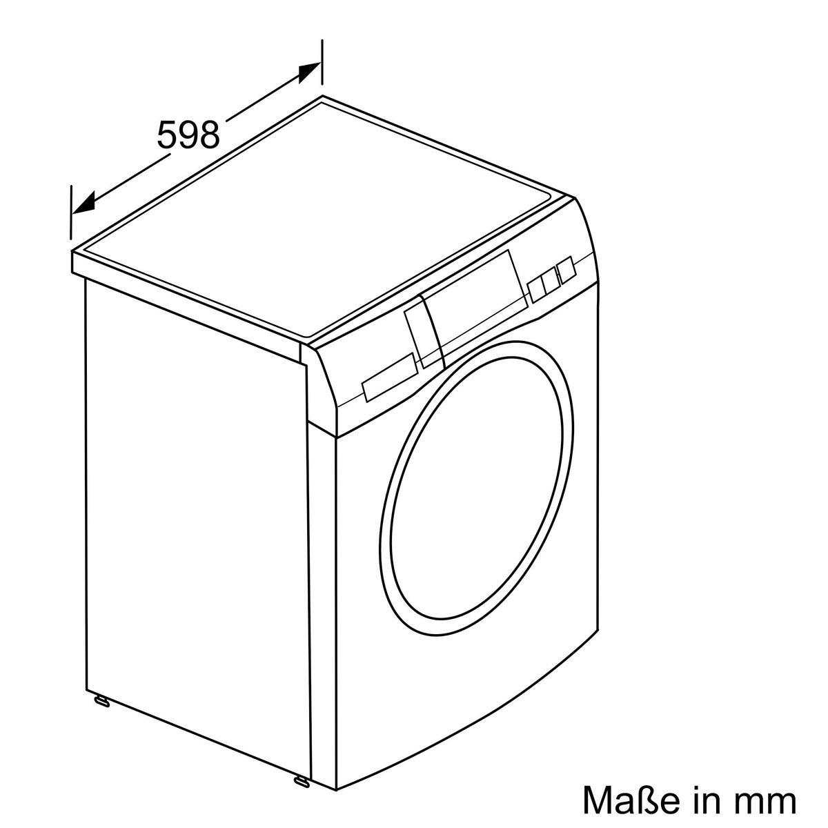 Gaggenau WM260163, Waschmaschine, Frontlader – Bild 4
