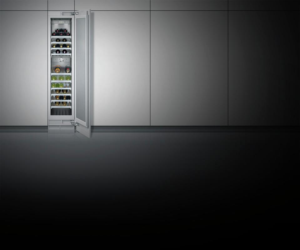 RW414301 Vario Weinklimaschrank Serie 400 voll integrierbar Nischenbreite 45.7 cm, Nischenhöhe 213.4 cm – Bild 6