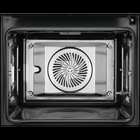 AEG BSE792220B Multidampfgarrer mit 3 fach Vollauszug FlexyRunners EEK: A+