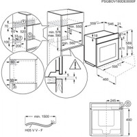 AEG BEE435060B Einbau-Backofen mit 3 fach Vollauszug FlexyRunners EEK: A+