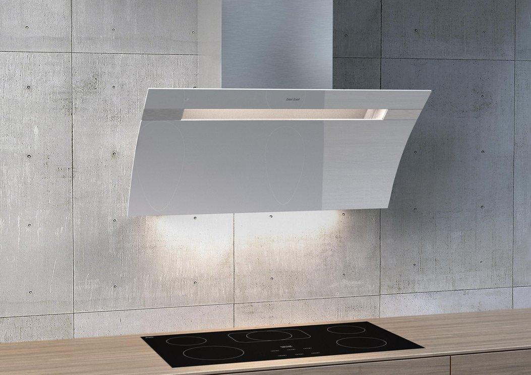 Berbel Glassline 2 BKH90GL-2 Weiß 1040066 Wandhaube, mit 5 Jahren Garantie – Bild 3
