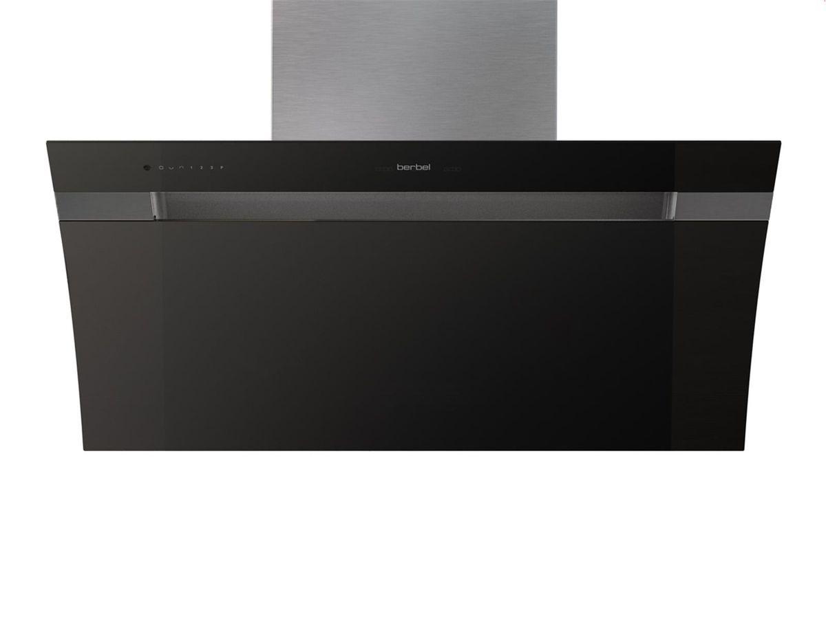 Berbel Glassline 2 BKH90GL-2 Schwarz 1040067 Wandhaube, mit 5 Jahren Garantie – Bild 1