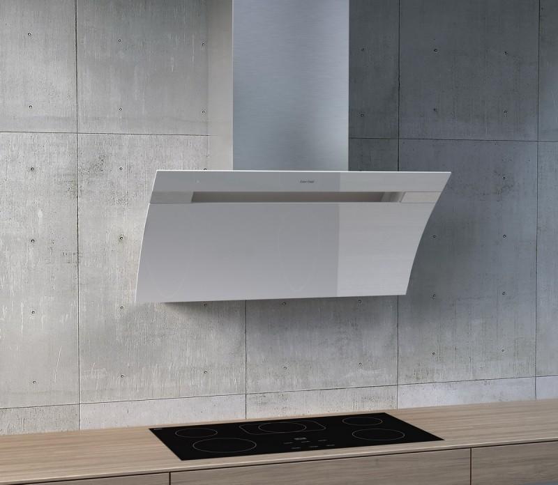 Berbel Glassline 2 BKH110GL-2 Weiß 1040068 Weiß Wandhaube, mit 5 Jahren Garantie – Bild 2