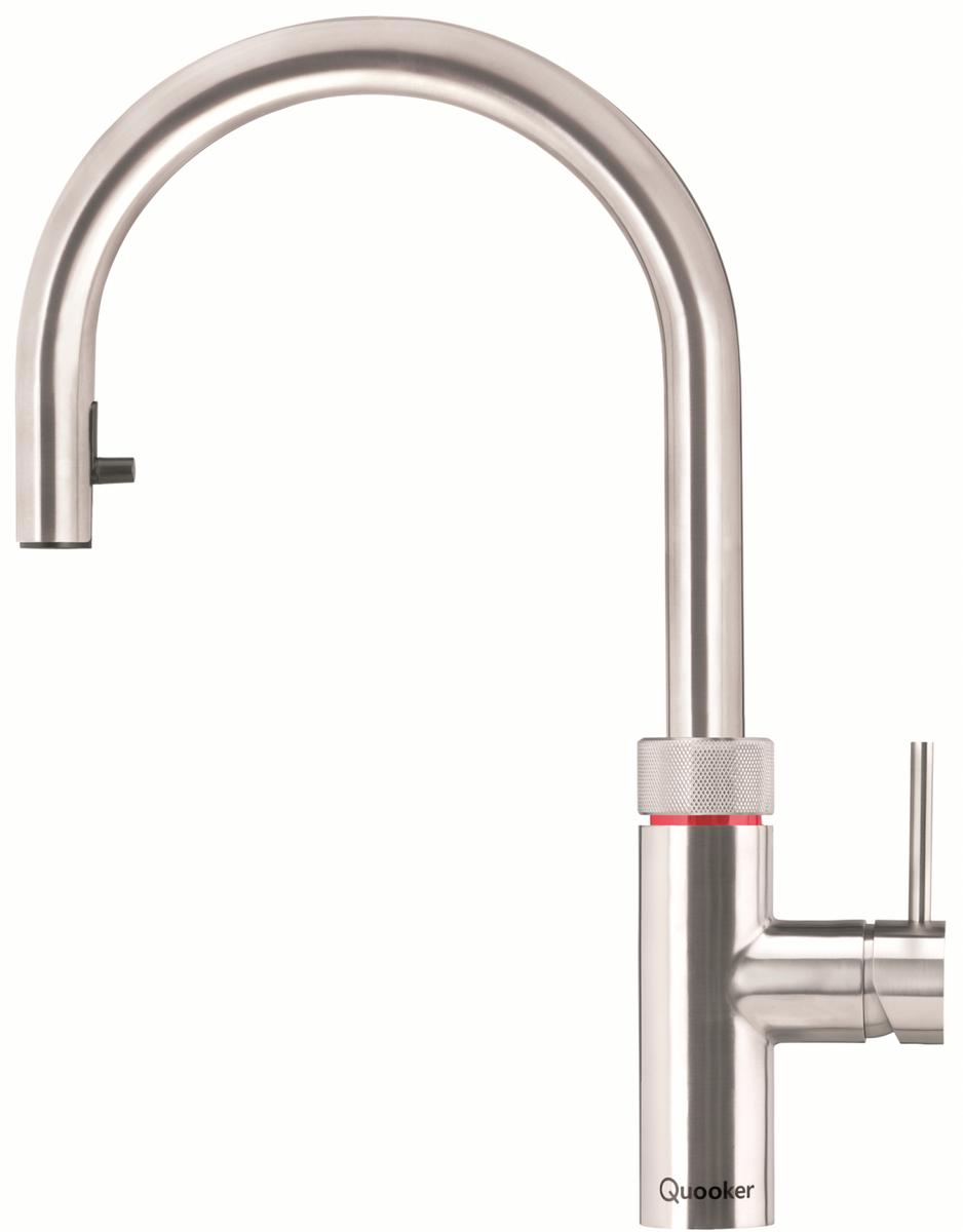 Quooker Flex, Voll-Edelstahl, mit Combi+ Heißwasser Reservoir, 22+XRVS Combi+ – Bild 1