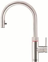 Quooker Flex, Voll-Edelstahl, mit Combi+ Heißwasser Reservoir, 22+XRVS Combi+
