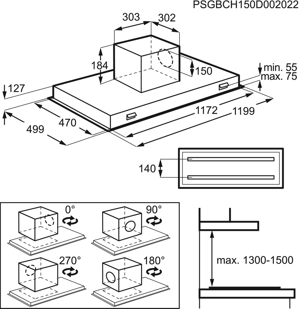 AEG DCK6290HG Deckenlüfter – Bild 4