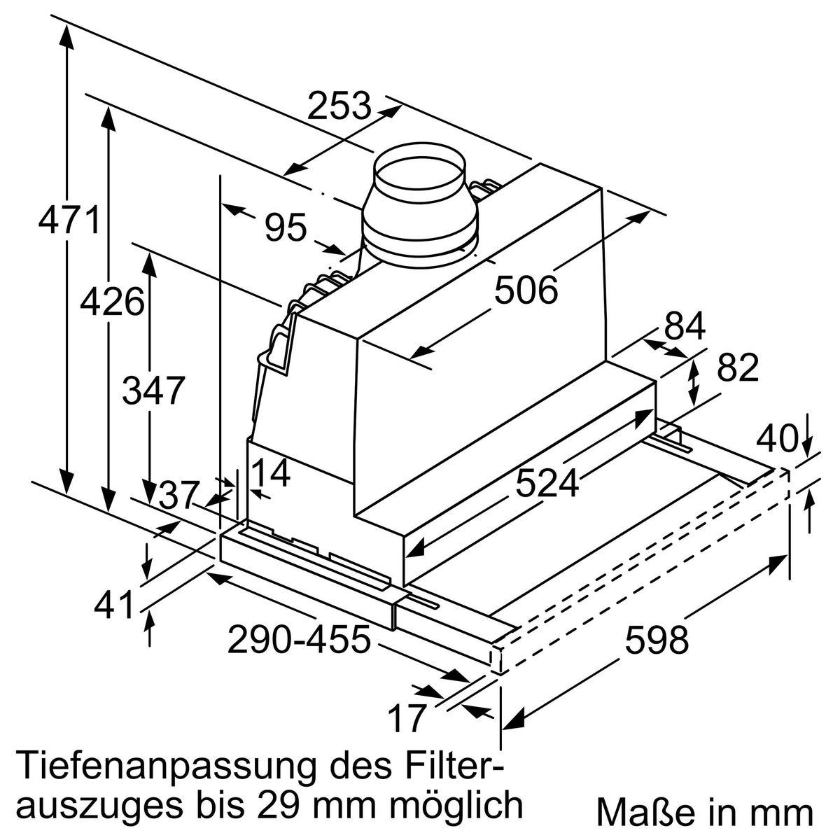 Neff D46ML54X0 Dunstabzugshaube – Bild 9