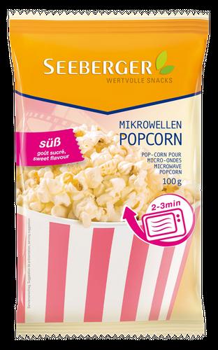Mikrowellen-Popcorn süß