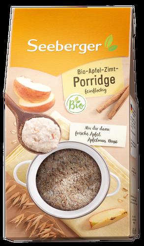 Bio-Apfel-Zimt-Porridge