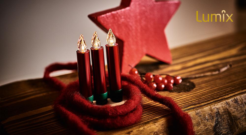 Advent, Advent, ein Lichtlein brennt... Neuheiten von Lumix entdecken!