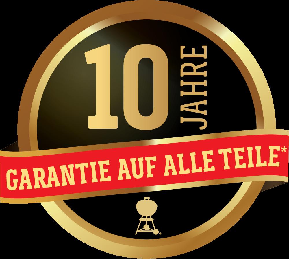 Garantie auf Spirit II Grills von Weber