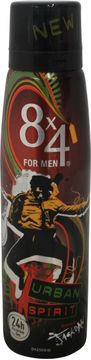 8x4 Deospray Urban Spirit for Men 150ml
