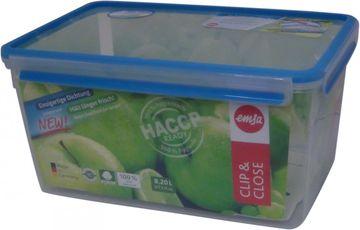 Emsa Clip + Close Frischhaltedose rechteckig 8,2L