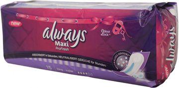 Always Maxi Pro Fresh long super 15 Stück