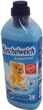 Kuschelweich Sommerwind Weichspüler 1L 28 Wäschen – Bild 1
