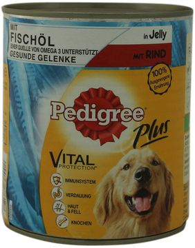 Pedigree Adult Plus Fischöl Rind 800g