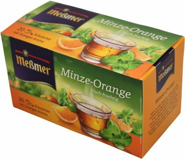 Messmer Minze-Orange Kräutertee 20 Beutel (35g)