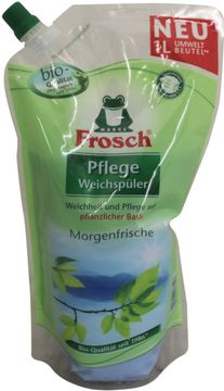 Frosch Pflege Weichspüler Morgenfrische 1L – Bild 1