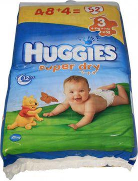 Huggies Super Dry Größe 3 Windeln 52 Stück