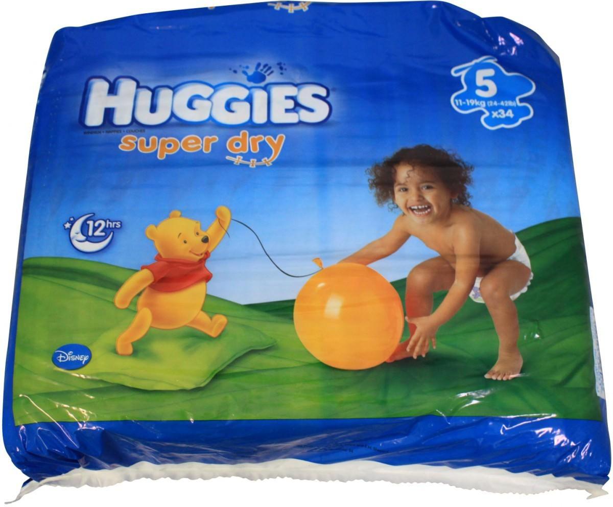 Huggies Super Dry Gre 5 Windeln 34 Stck Hygiene Kosmetik Toys
