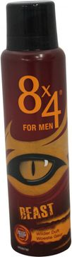 8x4 Deospray for Men Beast Wilder Duft 150ml