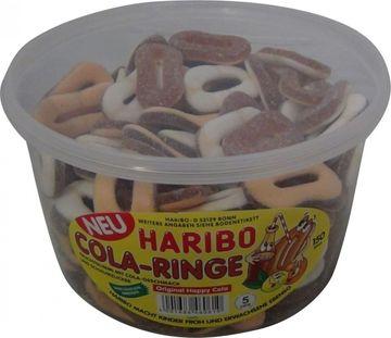 Haribo Cola-Ringe 150 Stück (1,2kg)