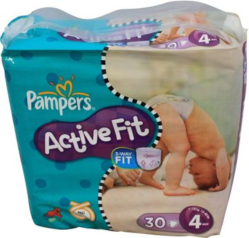 Pampers Active fit 30 Windeln Größe 4