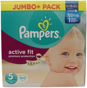 Pampers Active fit Junior 11-25kg 70 Stück