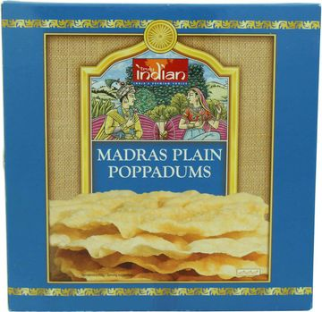 Truly Indian Poppadums Madras 112g