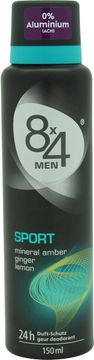 8x4 Deospray Men sport 150ml