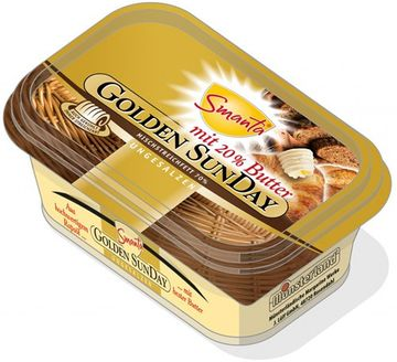 Golden SunDay mit Butter ungesalzen 225g