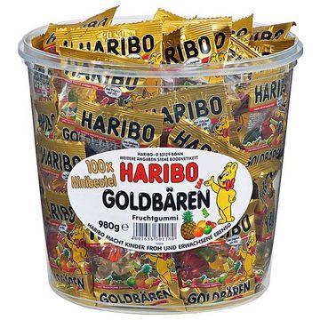 BUNDLE 02 - Haribo Goldbären Mini Beutel 100 Stück = 980g – Bild 1